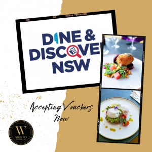 Dine and Discover promo flyer