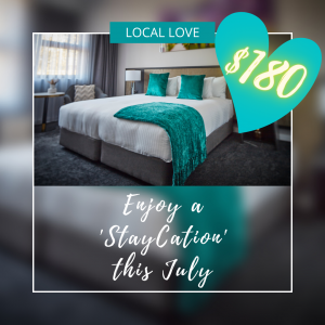 Local love staycation image